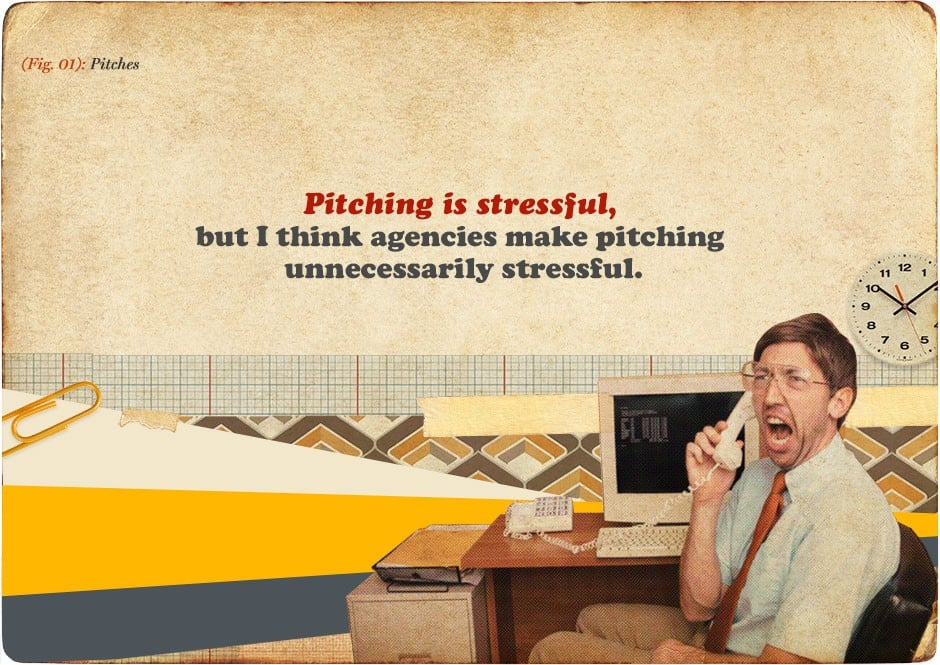 Advertising - Pitching is stressful
