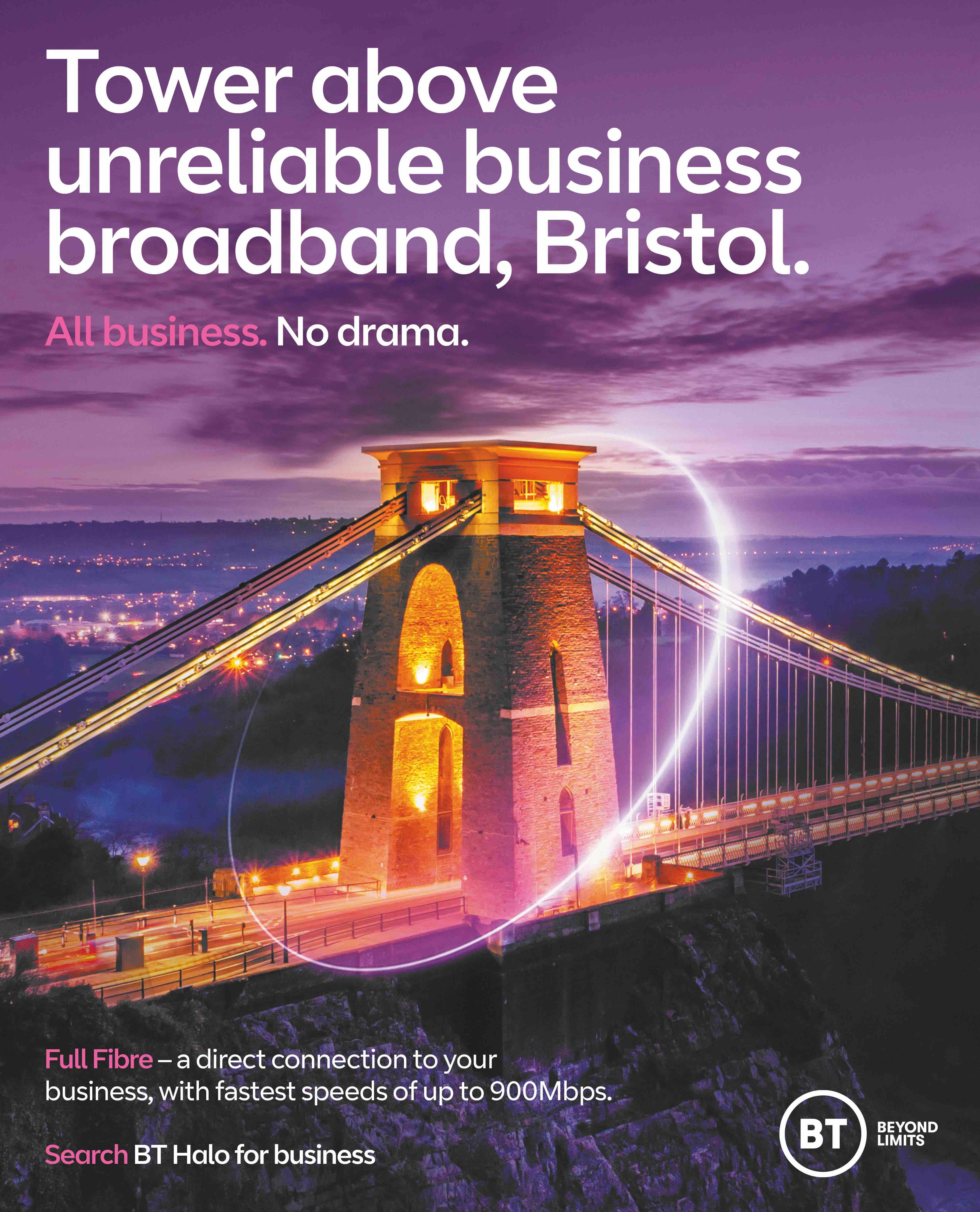 BT Full Fibre Bristol Press by Now