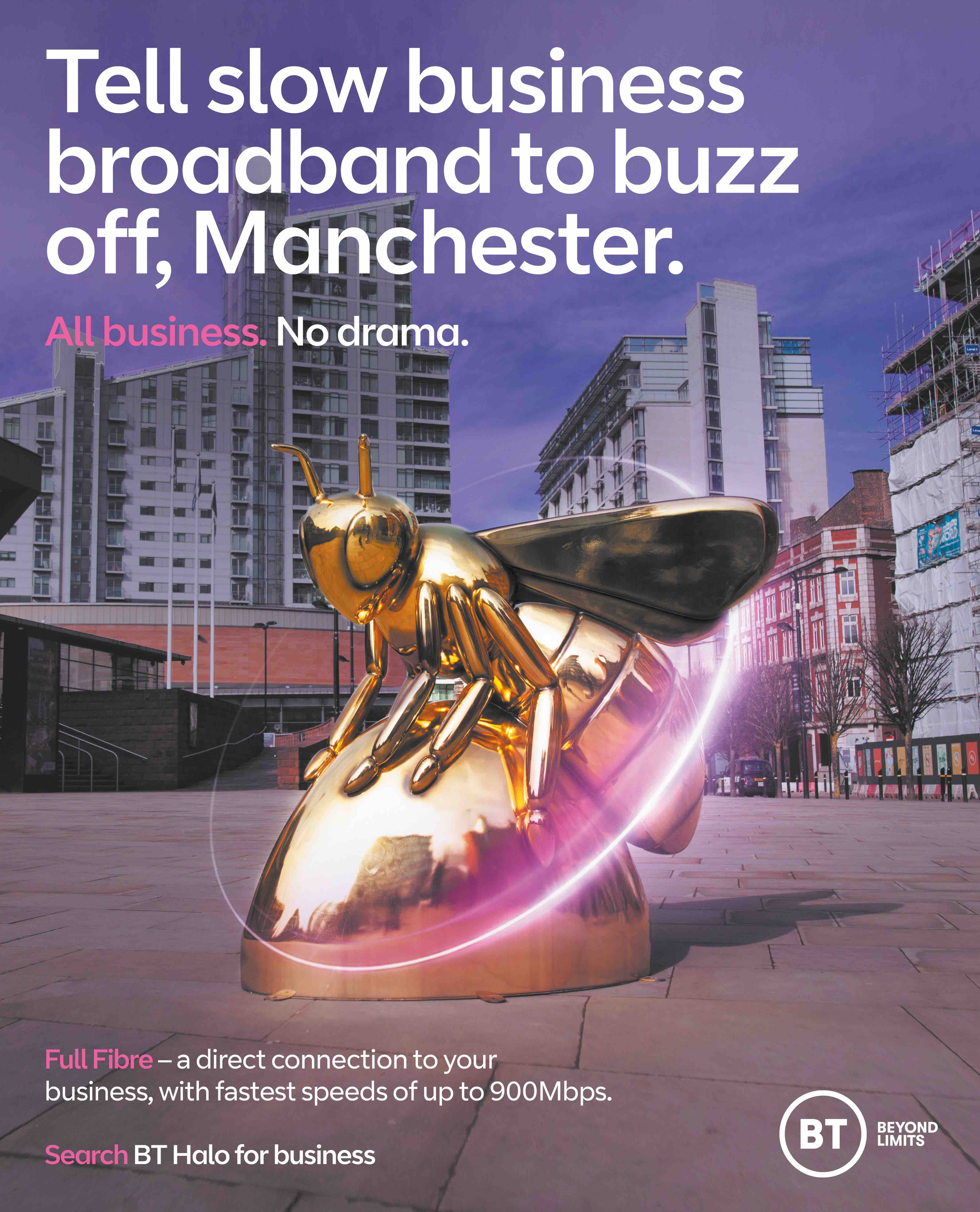 Full Fibre Press Manchester_by Now Advertising